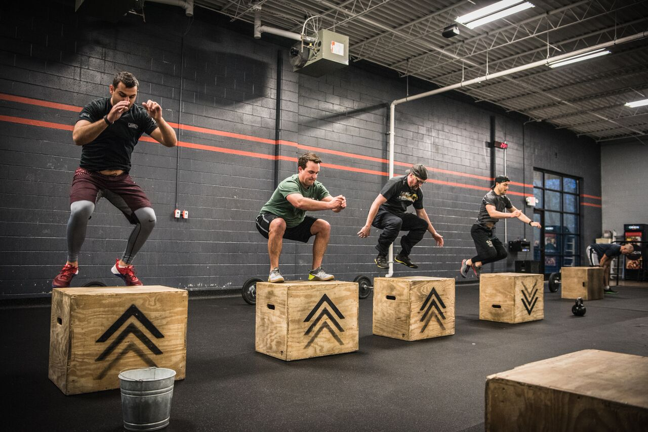 Union crossfit tuesday front squat